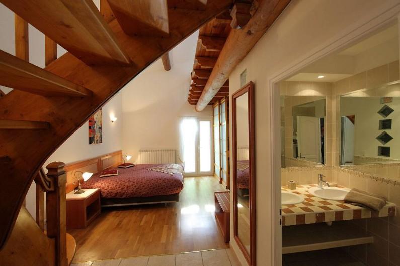 Location de vacances - Villa à Avignon - Chambre 3 lit 180 ou 2 lits 90 + lit 140