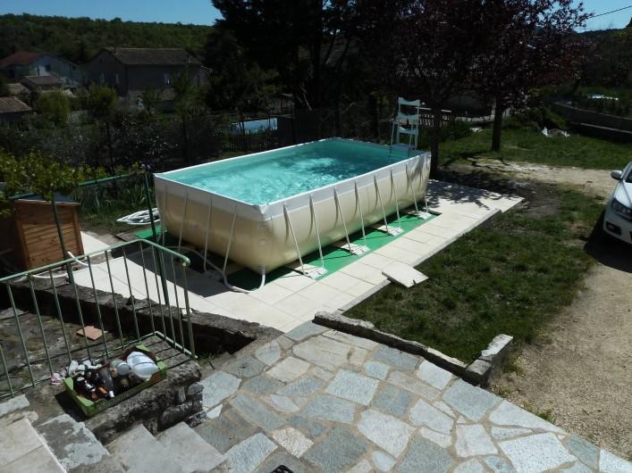 Location de vacances - Mas à Saint-Paul-le-Jeune - piscine