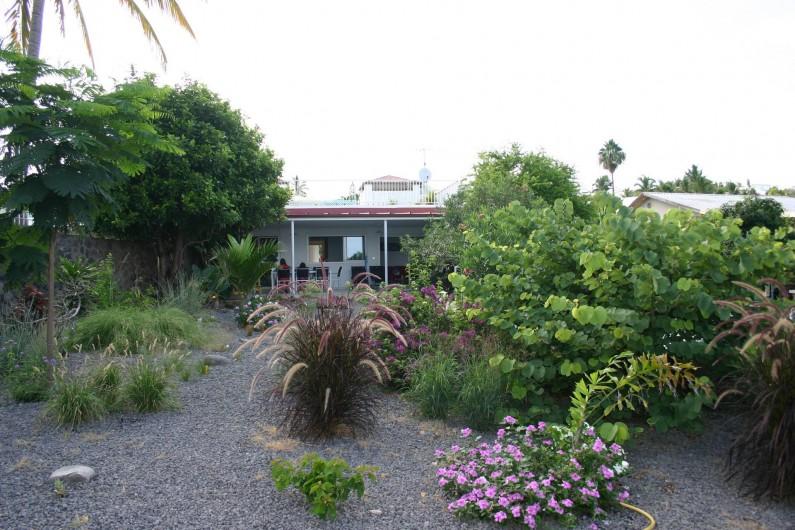 Location de vacances - Villa à Saint-Gilles les Bains - Le jardin tropical