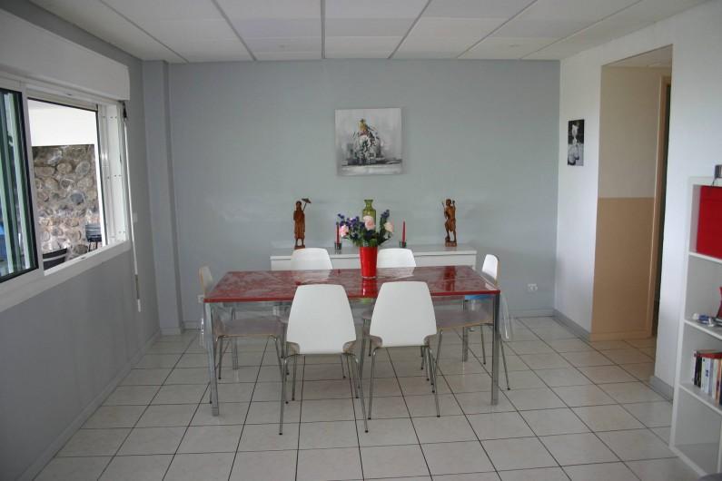 Location de vacances - Villa à Saint-Gilles les Bains - La salle à manger
