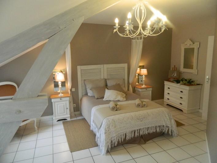 Location de vacances - Gîte à Baume-les-Messieurs - Chambre de l'érable : 20m2