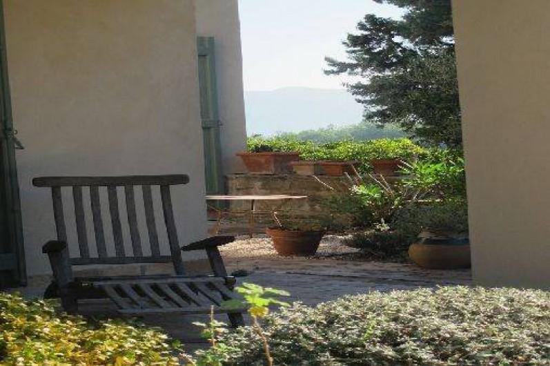 Location de vacances - Gîte à Le Beausset - Une vue de la terrasse