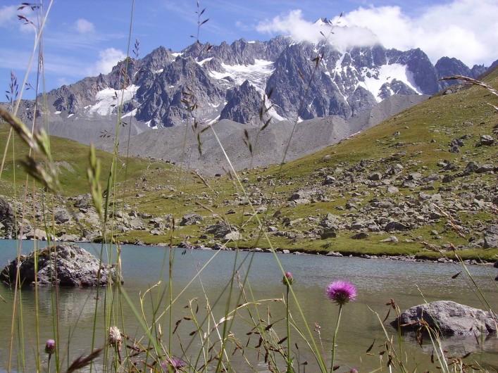 Location de vacances - Studio à La Grave - Randonnée refuge de l'Alp
