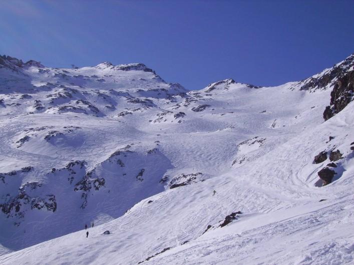Location de vacances - Studio à La Grave - Ski hors piste dans les vallons de la Meije