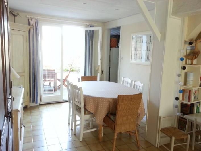 Location de vacances - Villa à Le Crotoy - La salle à manger