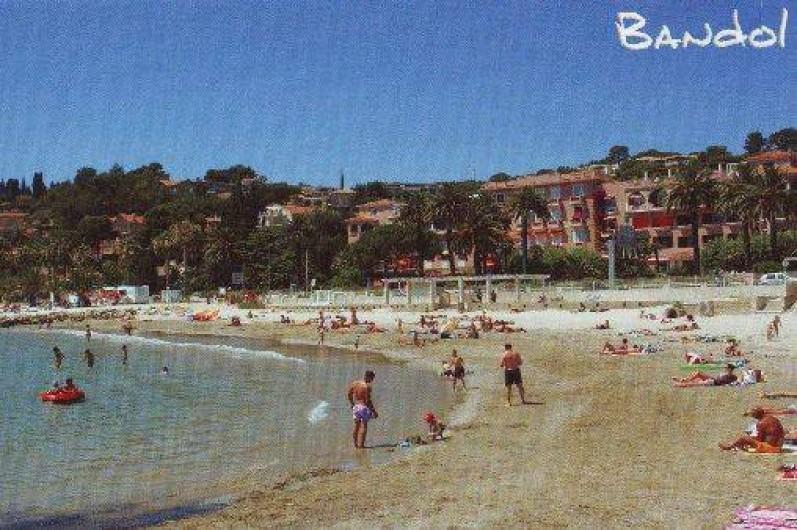 Location de vacances - Studio à Bandol - La Plage