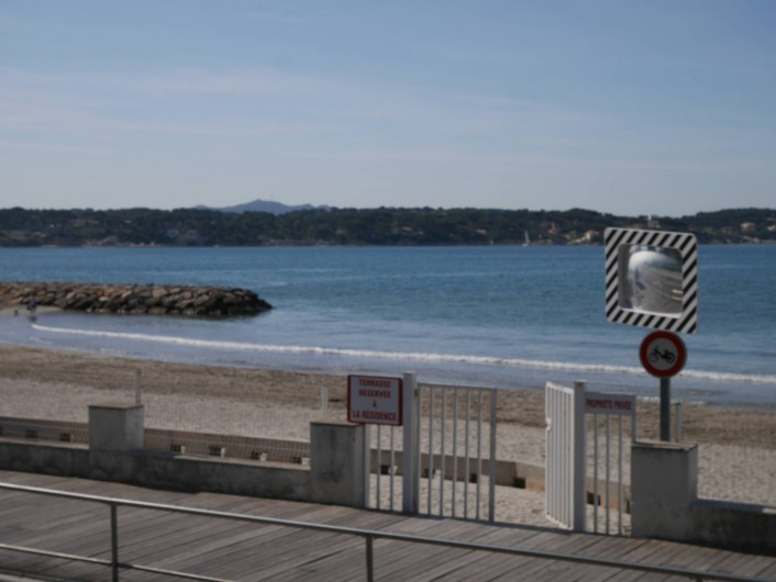 Location de vacances - Studio à Bandol - le Solarium
