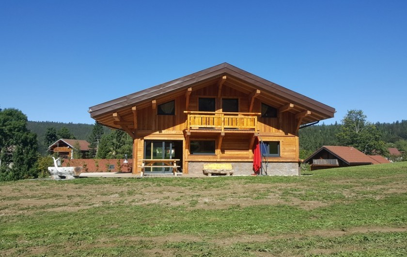 Location de vacances - Chalet à Bellefontaine