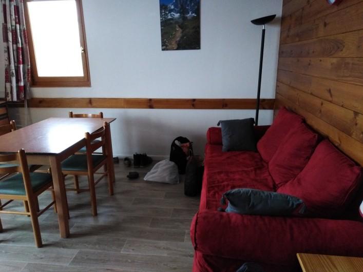 Location de vacances - Appartement à Saint-Sorlin-d'Arves - séjour