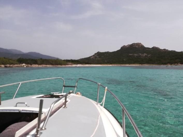 Location de vacances - Appartement à Pianottoli-Caldarello - plage d'arbitro