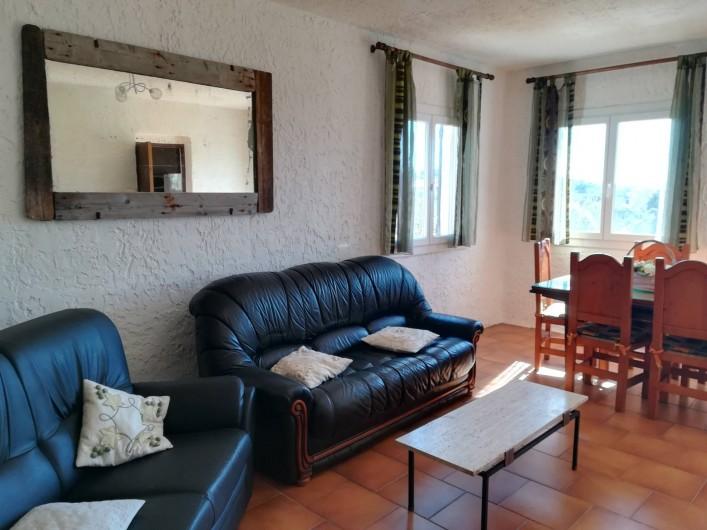 Location de vacances - Appartement à Pianottoli-Caldarello - salon