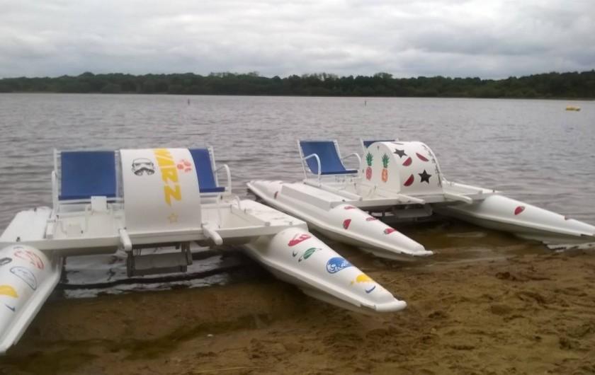 Location de vacances - Bungalow - Mobilhome à Priziac - base de loisirs lac du bel air priziac