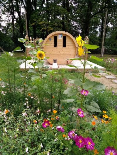 Location de vacances - Bungalow - Mobilhome à Priziac - sauna camping le lac o fees camping eco responsable tourisme responsable bretagn