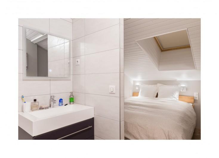 Location de vacances - Appartement à Méribel-Mottaret - Chambre 1 - parentale
