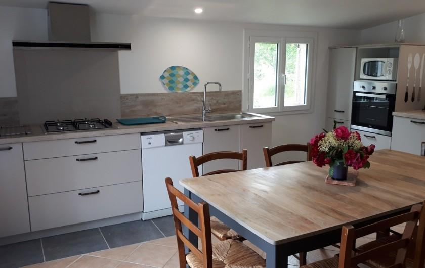Location de vacances - Gîte à Mechmont - La cuisine refaite en 2020