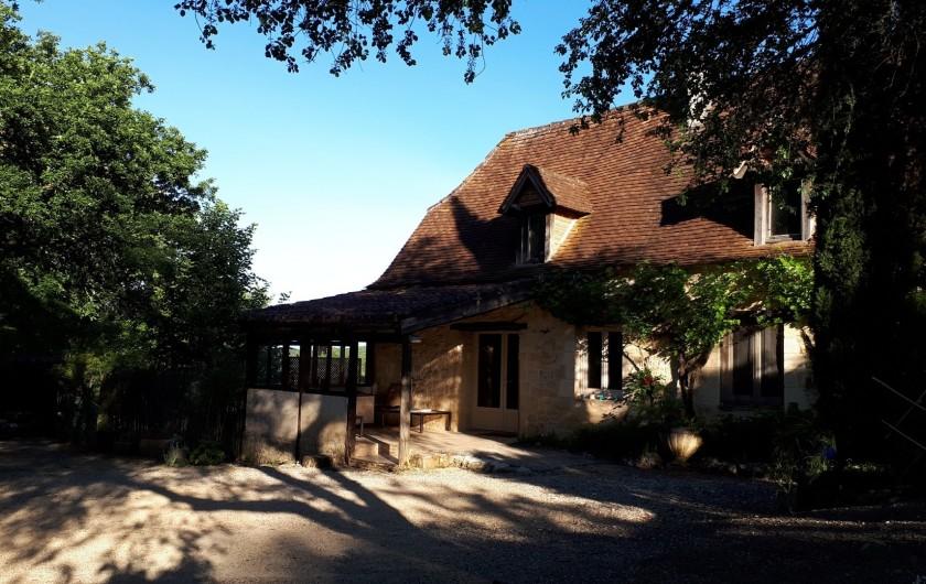 Location de vacances - Gîte à Mechmont - a la lumière du levant