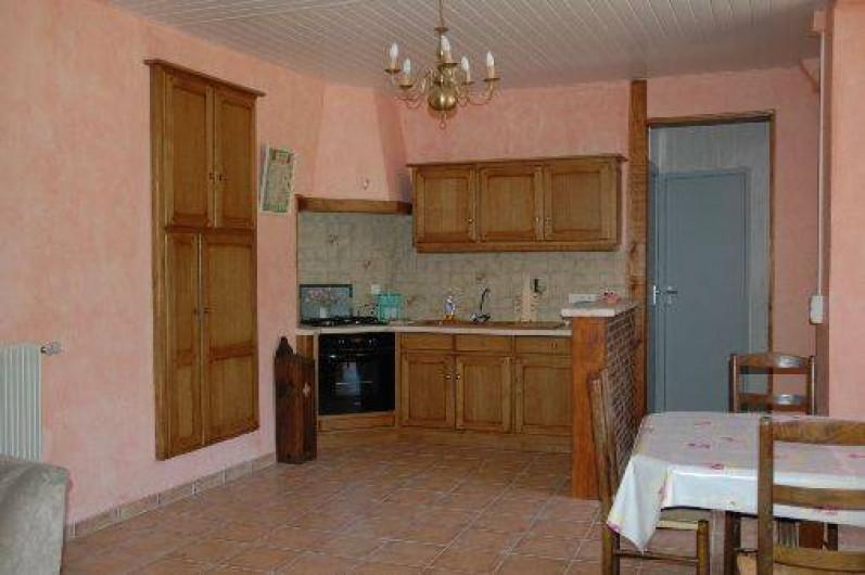 Location de vacances - Gîte à Plasne - coin cuisine
