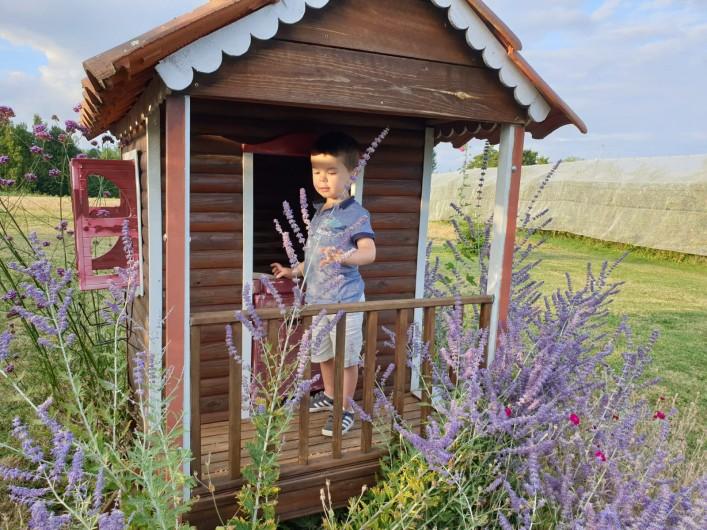 Location de vacances - Gîte à Lafrançaise - La petite maison des enfants.