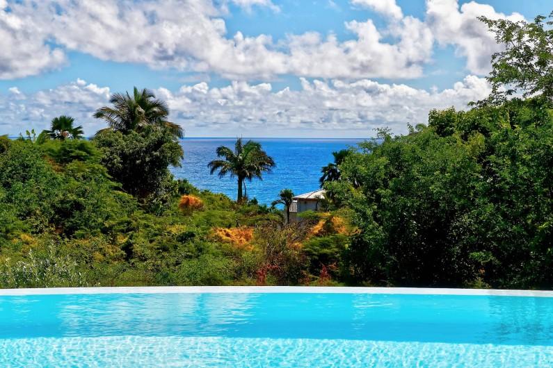 Location de vacances - Villa à Sainte-Anne - vue mer