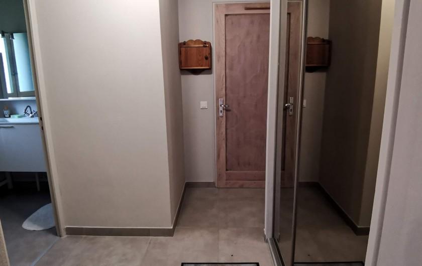 Location de vacances - Appartement à Pelvoux - Hall d'entrée