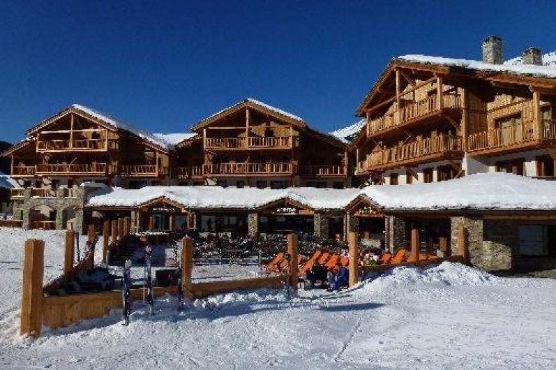 Location de vacances - Appartement à Lanslebourg-Mont-Cenis - La résidence l'hiver