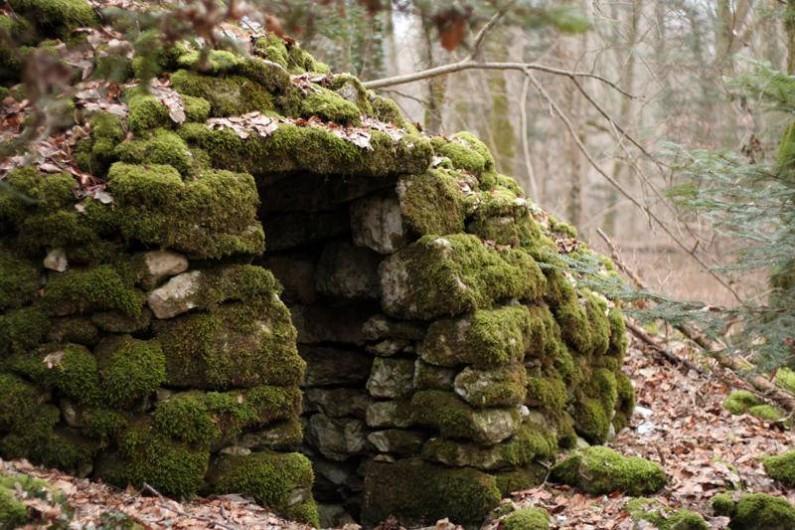 Location de vacances - Gîte à Chantraines - Cabane en pierre à 2 km du gîte