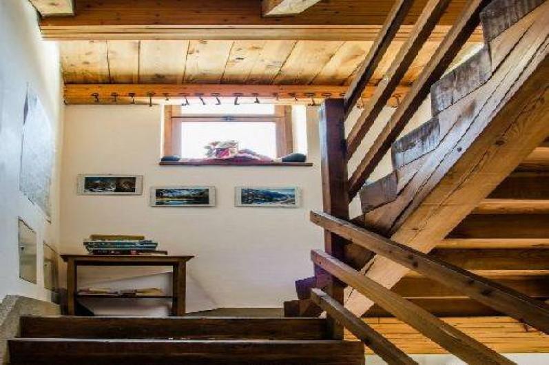 Location de vacances - Appartement à Bionaz - Couloir