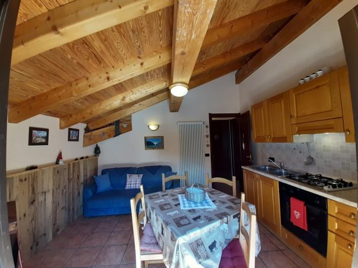 Location de vacances - Appartement à Bionaz - Deuxième étage