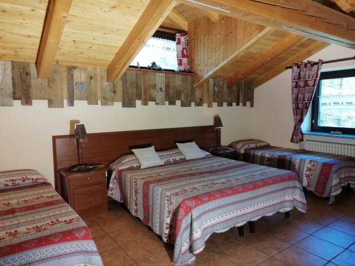 Location de vacances - Appartement à Bionaz - Mansarde