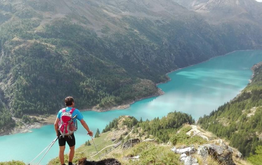 Location de vacances - Appartement à Bionaz - Vue alpage Broulé