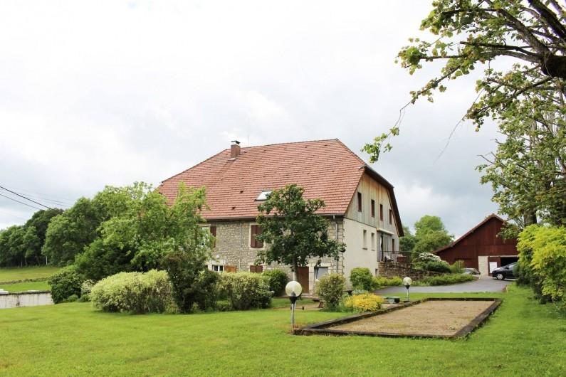 Location de vacances - Gîte à Fournet-Blancheroche - Nos extérieurs