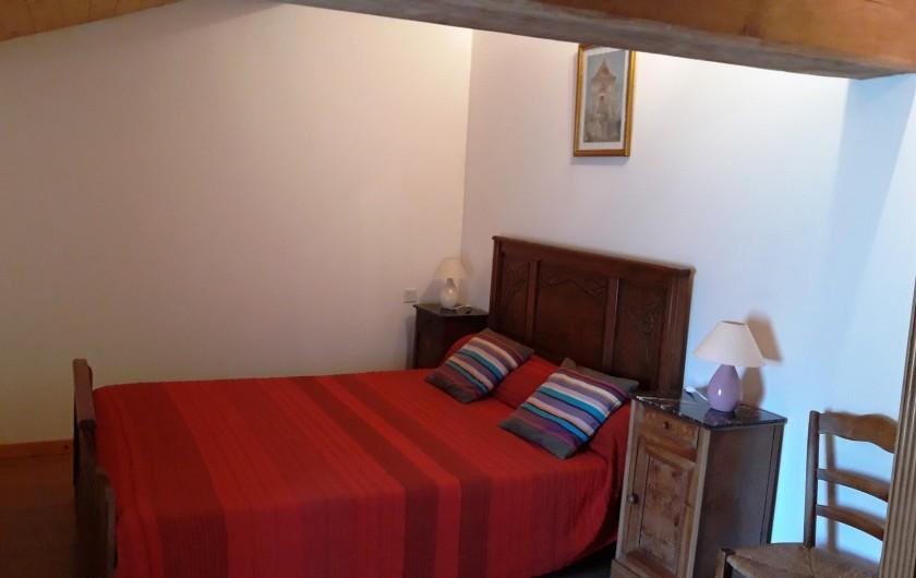 Location de vacances - Maison - Villa à Moncoutant-sur-Sèvre - Chambre Etage coté cour