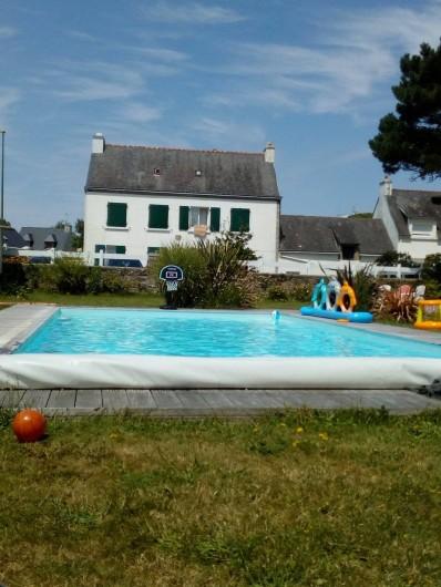 Location de vacances - Yourte à Guidel - Piscine commune a tous les logements
