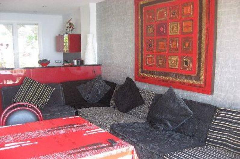 Location de vacances - Appartement à Carry-le-Rouet - séjour