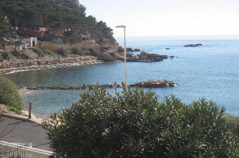 Location de vacances - Appartement à Carry-le-Rouet - vue mer à 180 °