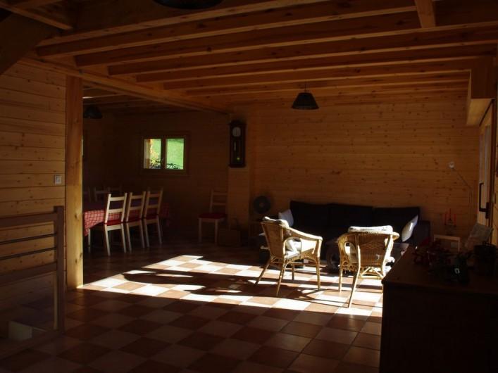 Location de vacances - Chalet à Melon - Salon