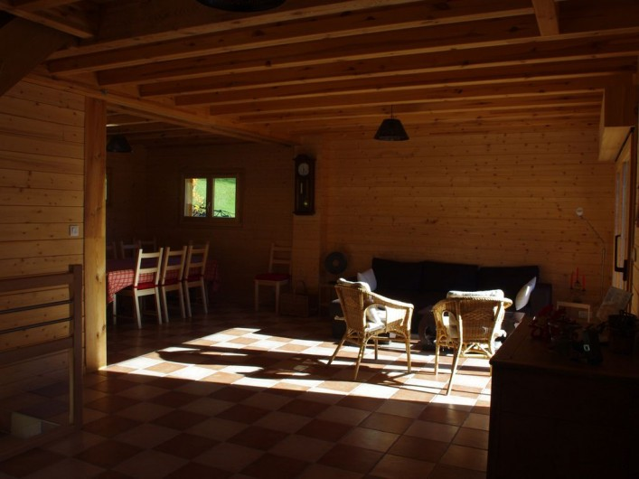 Location de vacances - Chalet à Melon - Salon
