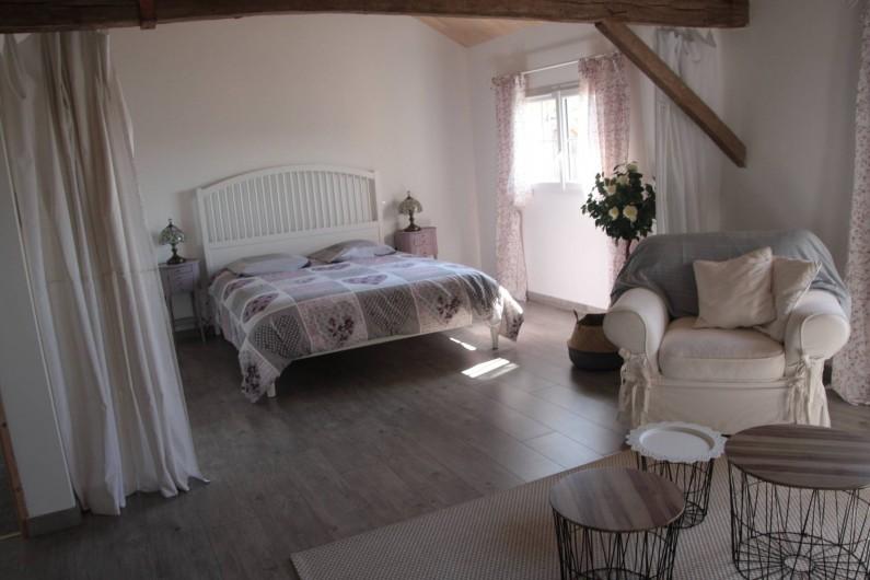 """Location de vacances - Gîte à La Force - """"La Mésange"""" Chambre d'hôte (lit 160)"""