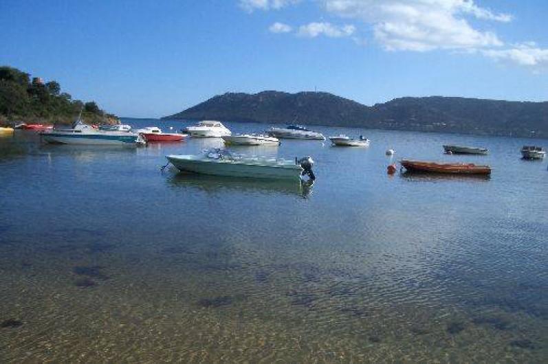Location de vacances - Studio à Porto-Vecchio - PLAGE CORPS MORTS