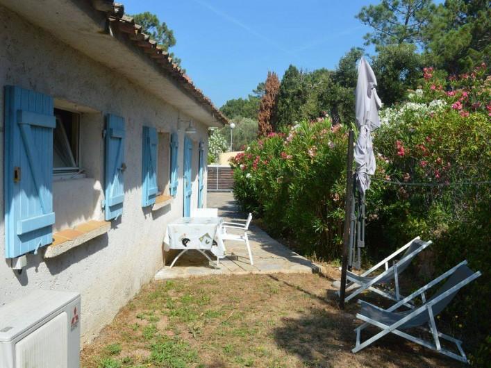 Location de vacances - Studio à Porto-Vecchio - TERRASSE