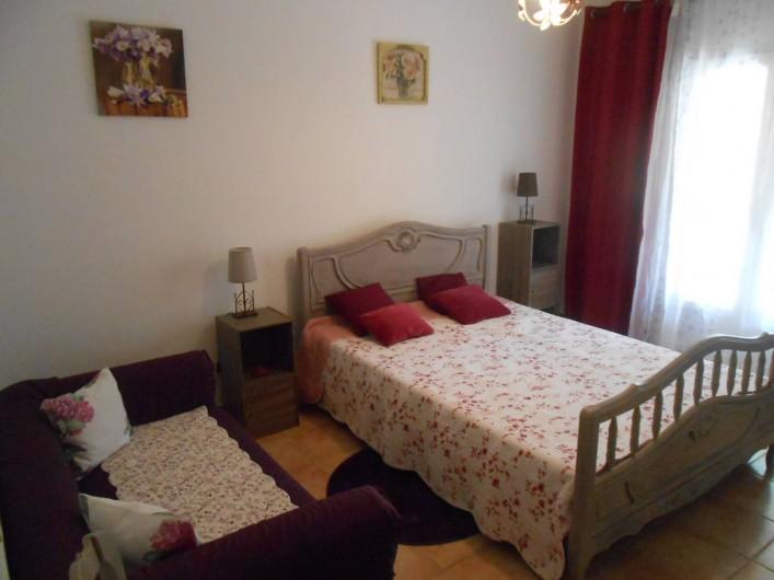 Location de vacances - Villa à Le Puy-Sainte-Réparade - Chambre 1