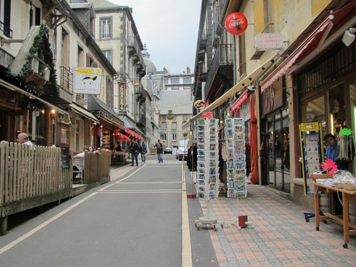 Location de vacances - Appartement à Le Mont-Dore - Rue piétonne du Mont Dore