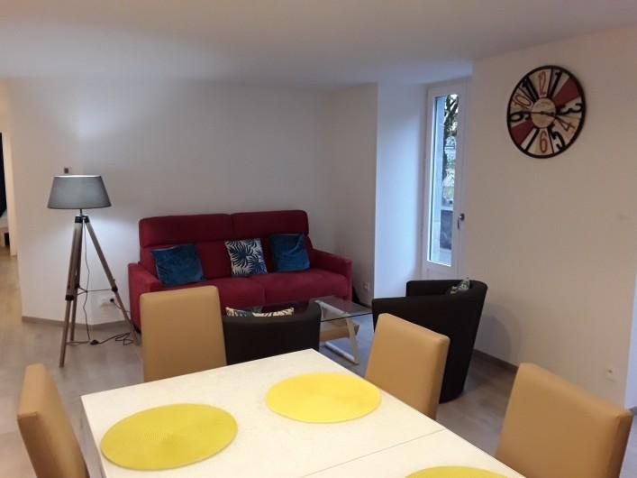 Location de vacances - Appartement à Le Mont-Dore - salon et salle à manger
