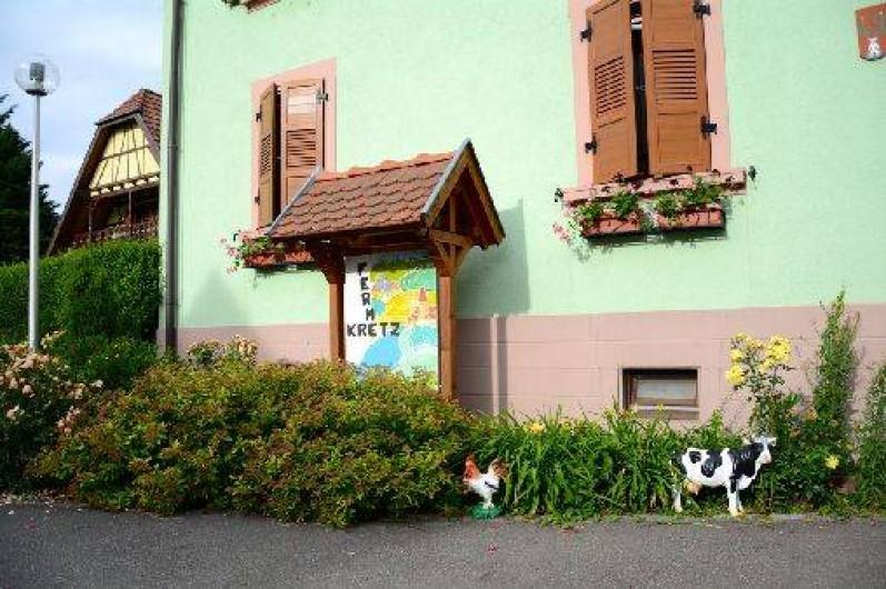 Location de vacances - Gîte à Witternheim