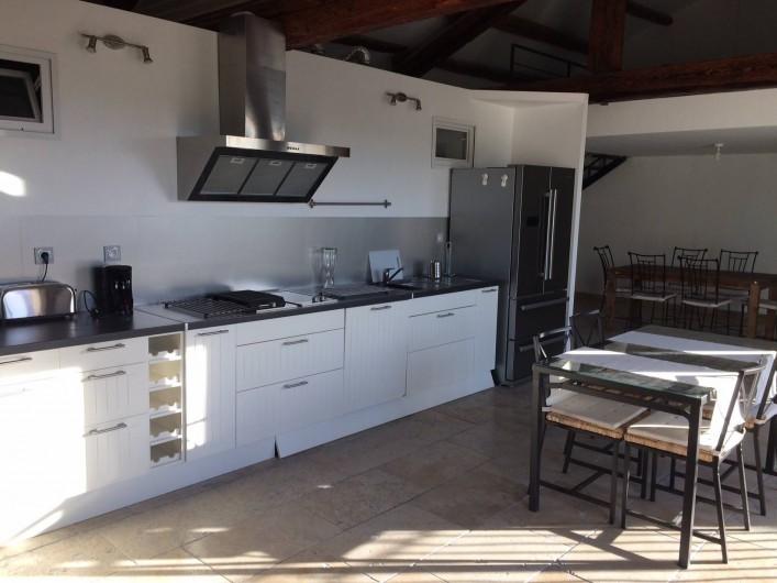 Location de vacances - Appartement à Sarrians - CUISINE