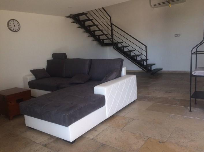 Location de vacances - Appartement à Sarrians - SALON