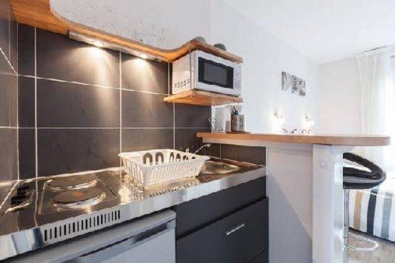 Location de vacances - Studio à Saint-Malo - la kitchenette