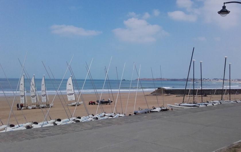Location de vacances - Studio à Saint-Malo - plge de la Hoguette (surf school)