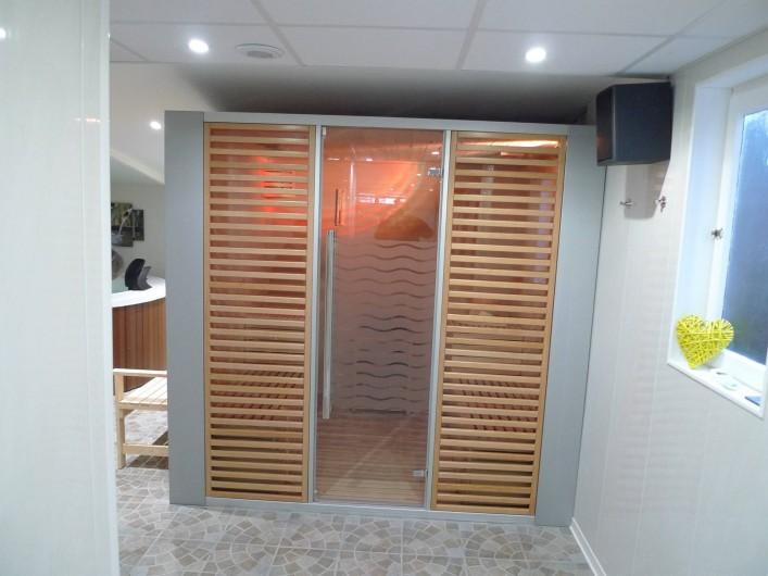 Location de vacances - Studio à Saint-Malo - le sauna...