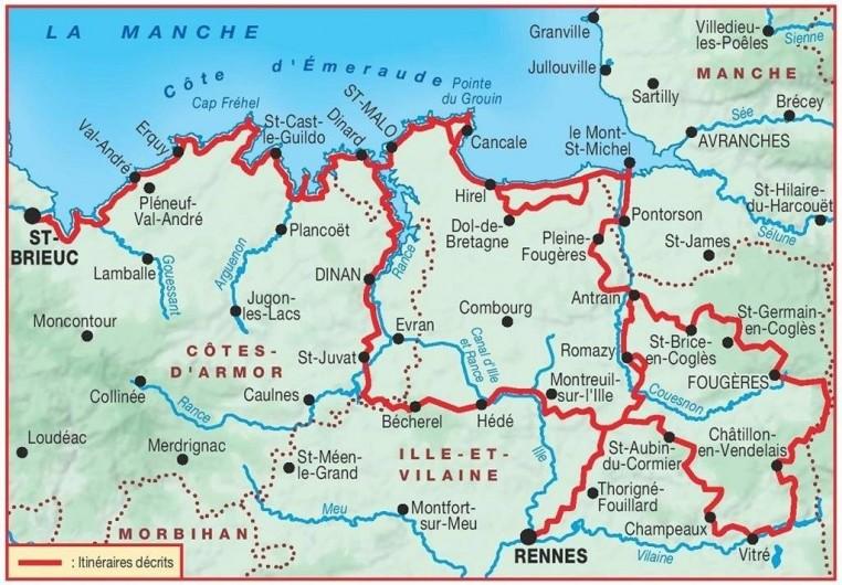 Location de vacances - Studio à Saint-Malo - lieux à visiter autour de Saint-Malo